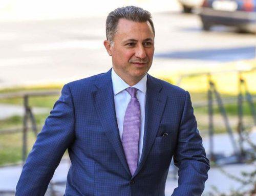 """Никола Груевски: """"Во барањето за политички азил наведов дека истиот го барам заради политички прогон од новата влада предводен од партијата СДСМ"""""""